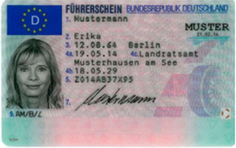 Mofa Prüfbescheinigung Verloren by Ersatzf 252 Hrerschein Stadt Baden Baden