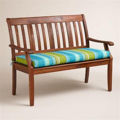 striped garden bench cushions coastal stripe outdoor bench cushion world market