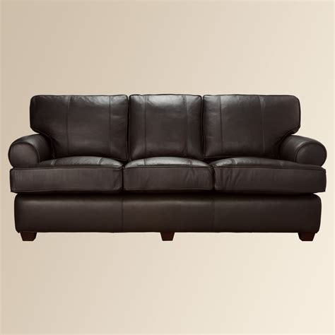 Hadley Leather Sofa Home Interior Design Ideashome