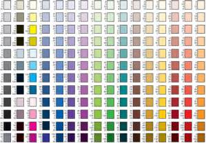 cmyk color chart graphic arts printing design guide with cmyk color chart