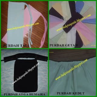 2in1 Balqis ummi balqis collection purdah niqab