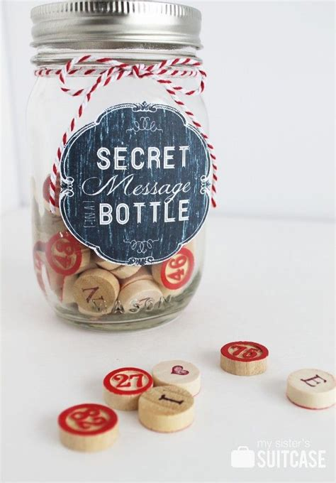 secret s day messages 137 best images about s day in a jar on