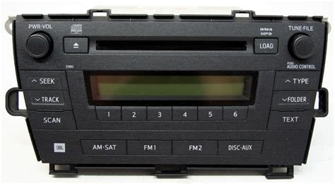 Toyota Prius Stereo Toyota Prius 2010 2011 Factory Stereo Jbl 6 Disc Changer