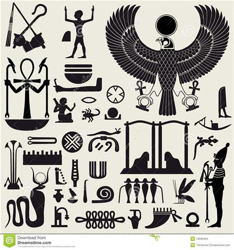 imagenes simbolos egipcios s 237 mbolos y muestras egipcios 2 imagenes de archivo