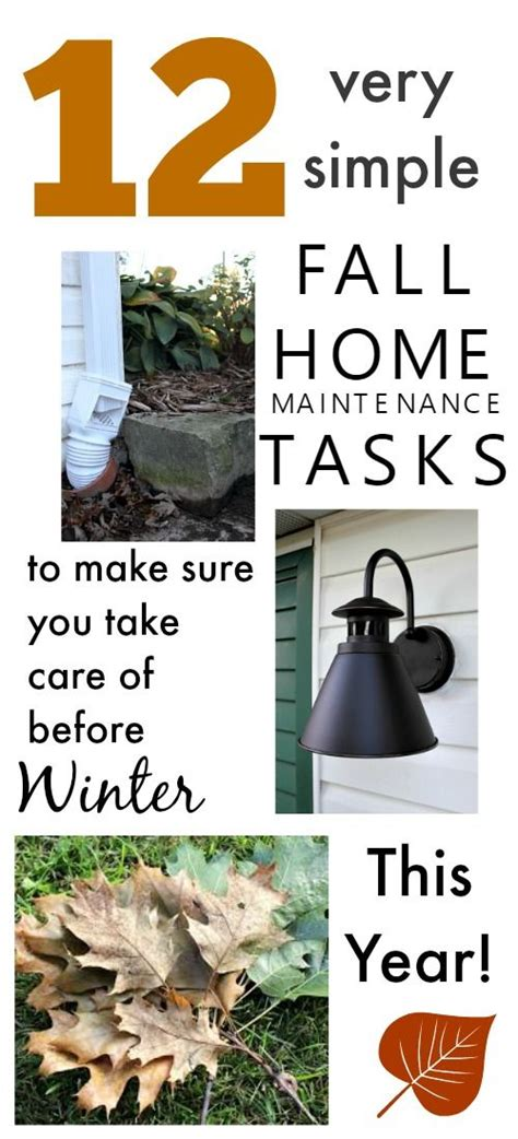 12 fall maintenance tips for your home abbate insurance 12 1 very simple fall home maintenance tasks to prepare