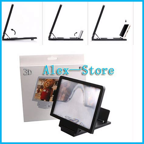 Enlarge Screen Magnifier Bracket Stand 3d With Speaker Murah compare prices on free screen magnifiers shopping