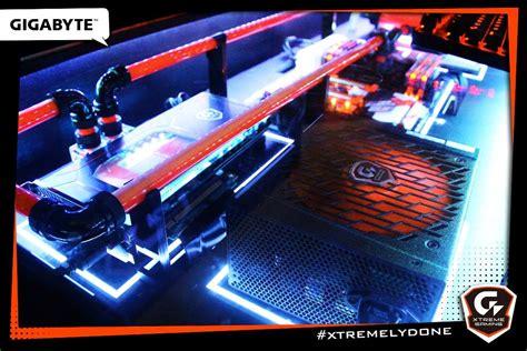 custom gaming desk pc mod custom gaming pc desk aorus