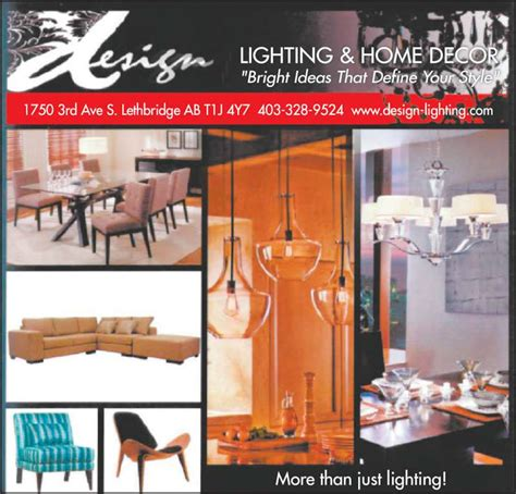 home decor ads design lighting home decor lethbridge ab 1750 3 ave s canpages