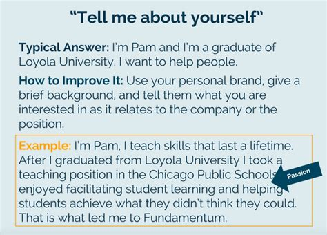 Mba Tips Tell Me About Yourself by Excellent Resume Questions Tell Me About Yourself Images