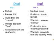 Through Deaf Essay by The Hearing World Around Me Energetic Style And It Was Easy To Tell That