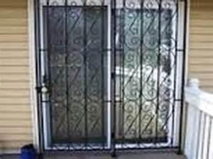 Patio Door Guard Patio Door Guard 201 855 6257 Windows Bars Newark Nj 07101
