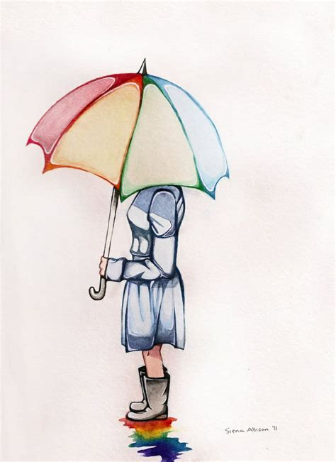 watercolor tattoo umbrella watercolor tattoos and co