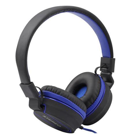 Headphone Komputer Original Foldable Outdoor Sport Headphones Gaming Headset