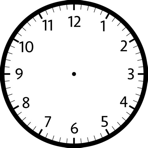 printable clock template printable clock template printable shelter