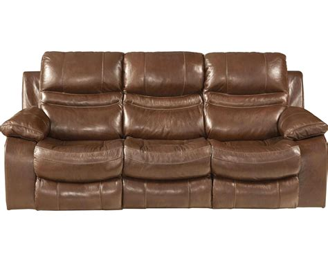 catnapper leather sofa catnapper patton top grain italian leather lay flat
