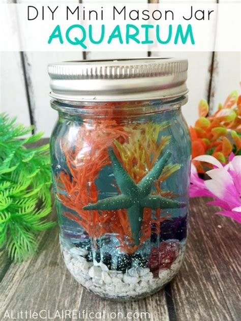 23 diy crafts with mini mason jars diy ready
