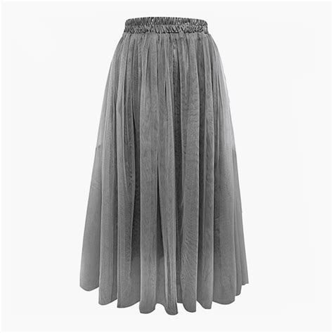 summer s tulle skirt princess big swing voile midi