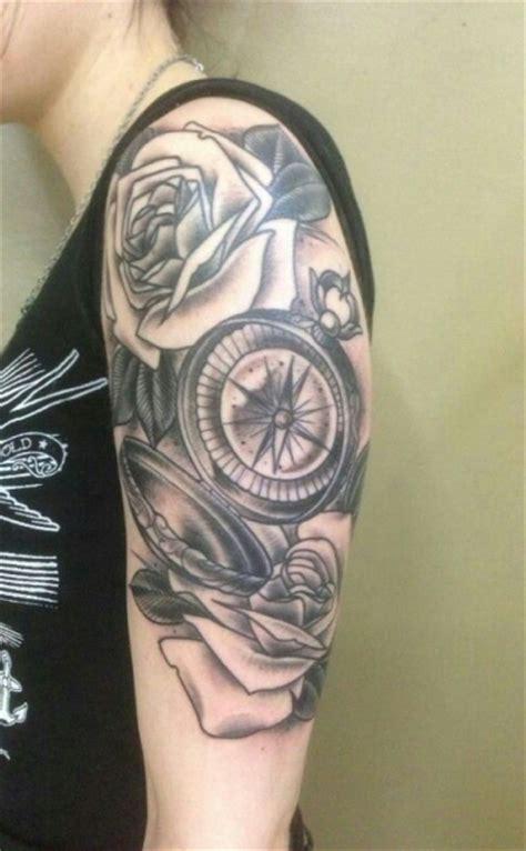 tattoo old school kompass jess88 kompass black white tattoos von tattoo bewertung de