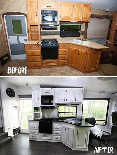 cer trailer kitchen ideas 25 best ideas about rv remodeling on pinterest cer makeover trailer remodel and travel