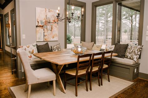 Built In Bench Dining Room by Houzz Dining Room Dining Room Traditional With Built In