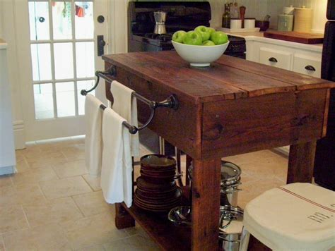 vintage home love   build  rustic kitchen table island