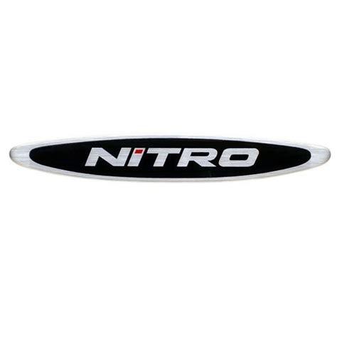 nitro boat decals tracker oem 153239 nitro logo raised foam filled boat