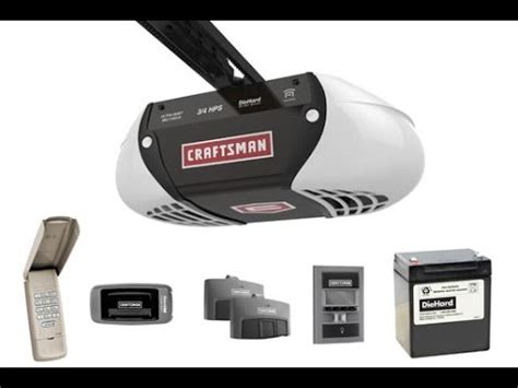 How To Reset The Keypad Code For A Craftsman Garage Door Reprogram Craftsman Garage Door Opener