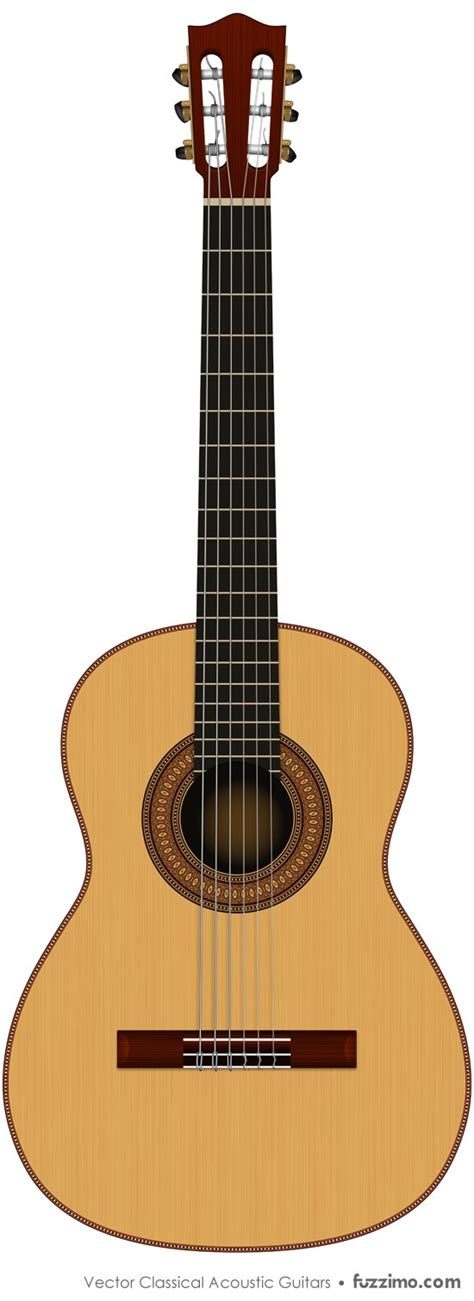 printable guitar images free vector classical acoustic guitars fuzzimo