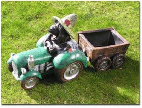 maulwurf traktor trecker figur anh 228 nger garten kaufen