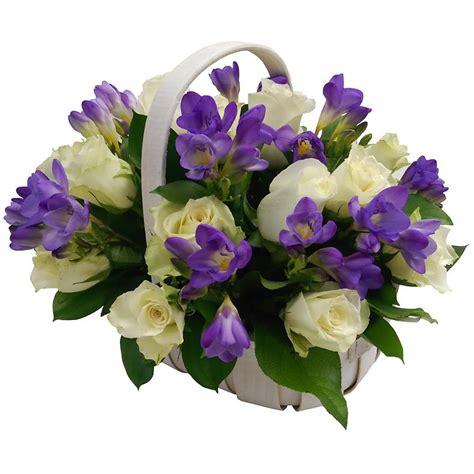 Flower Basket by Amethyst Flower Basket Send Fresh Flowers For Next Day