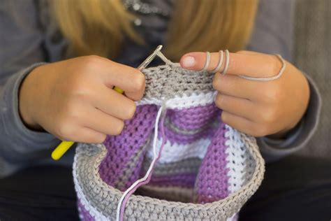 cloth sewing checks a magic pat trick pattern scissors team spirit hat free crochet pattern