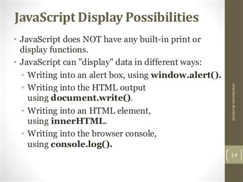 javascript tutorial document write java script how to write
