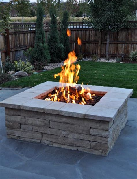 Can I Build A Fire Pit In My Backyard My New Backyard With Natural Gas Rp Gas Blog
