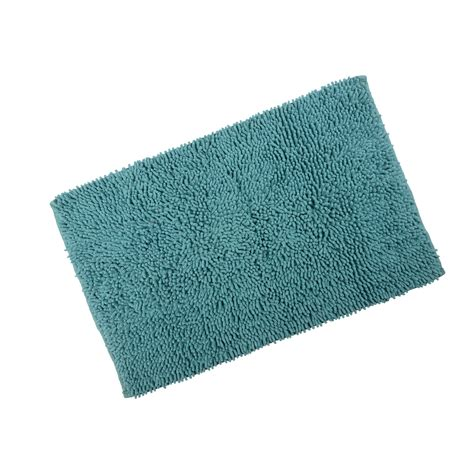 Washable Bath Rugs by Odyssey Chenille Cotton Shower Bath Mat Soft Washable