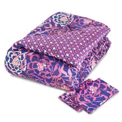 vera bradley wallpaper katalina pink sateen comforter set full queen in katalina pink vera