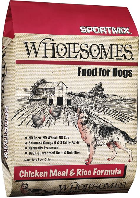 sportmix food sportmix wholesomes chicken meal rice formula