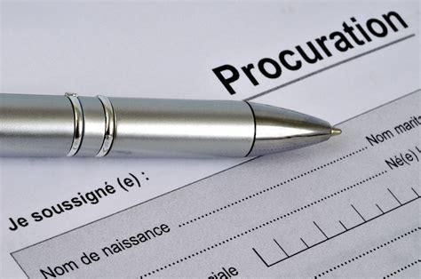 Exemple De Lettre De Procuration Pour Logement modele procuration vente terrain document