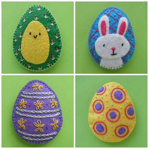 pattern for felt easter eggs pretty easter eggs easy felt patterns shiny happy world