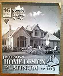 home design architectural series 3000 punch home design architectural series 3000 user s guide punch software amazon com books