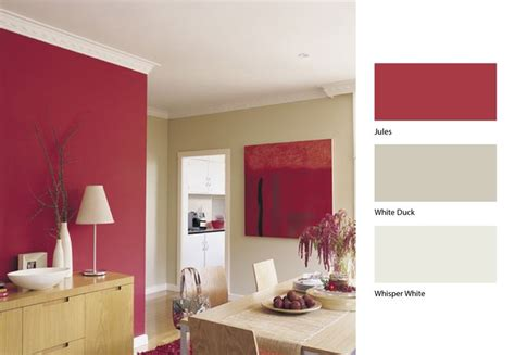 open up your dining area by this clever mix of dulux jules dulux whisper white and dulux white