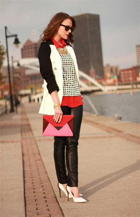 How To Style Your Wardrobe by 7 Creative Ways To Wear Houndstooth Patterns Glam Radar