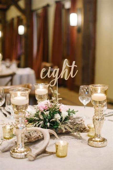 Wedding Table Number Ideas 17 Winter Wedding Table Numbers Ideas Happywedd
