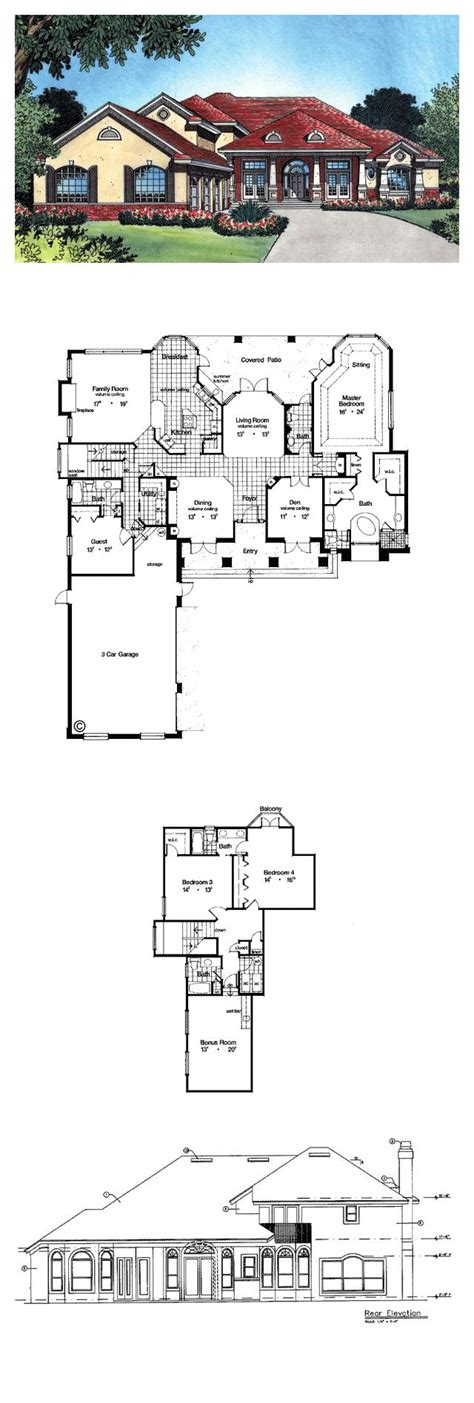 home page www ottawahouseplans com luxury house plans 63023 total living area 3557 sq ft