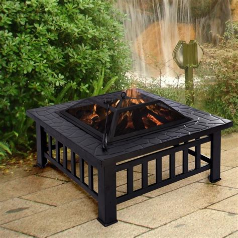 Chimney Firepit Metal Pit With Chimney Write