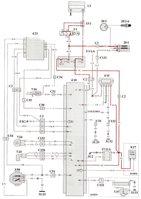 93 volvo bosch ignition wiring diagrams 93 get free