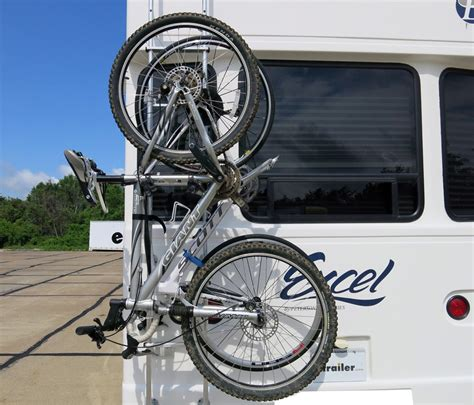 Rv Bicycle Rack by Surco 2 Bike Carrier For Vans And Rvs Ladder Mount Surco Products Rv And Cer Bike Racks Sp501br