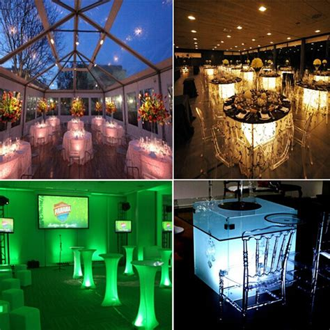 led table lights for weddings led mood light table led light for event and wedding