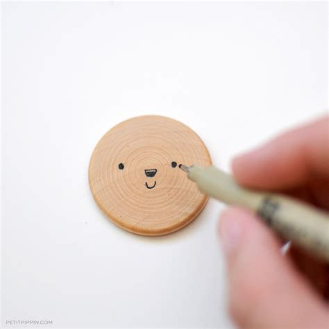 woodworking magnets diy wooden animal magnets petit pippin