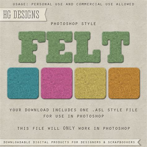 free photoshop styles and gradients felt ps style photoshop styles and gradients