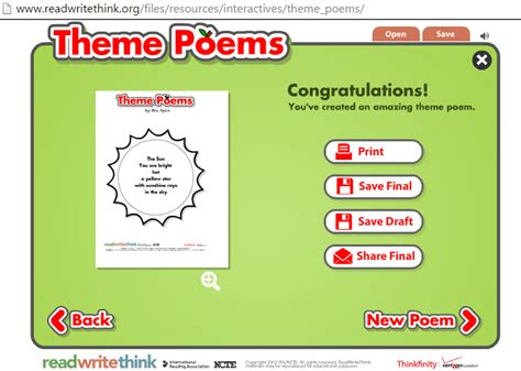 theme list for poems working on poetry let s try some thematic poetry owl